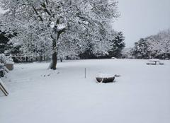 Neige Civry 28200 Civry sous la neige