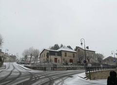 Neige Saint-Laurent-sur-Gorre 87310 Mairie