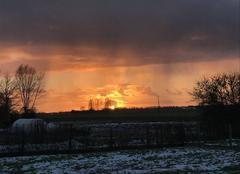 Ciel Sorigny 37250 Après la neige