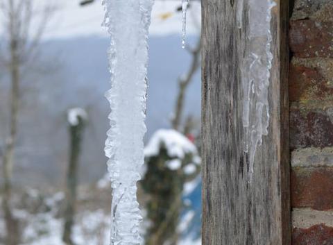 fontaine de glace en Thiérache