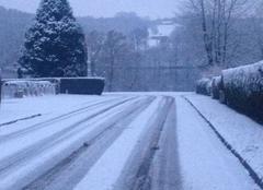 Neige Bujaleuf 87460 Journée sous la neige