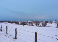 Neige Chirat-l'Eglise 03330 Les charmes de l?hiver