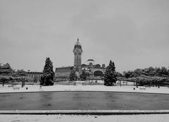 Neige Limoges 87280 La gare de Limoges