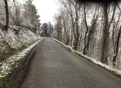 Neige Labruguiere 81290 Balade hivernale