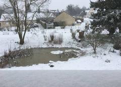 Neige Boos 76520 Boos sous la neige