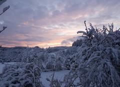 Neige Cambon-et-Salvergues 34330 Après la neige