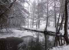 Neige Saint-Paul 87260 Le Limousin sous la neige