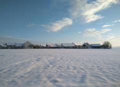 Neige Mauchamps 91730 Mauchamps sous la neige