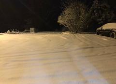 Neige Champs-sur-Tarentaine-Marchal 15270 Neige à champs sur tarentaine le 10/02/2018