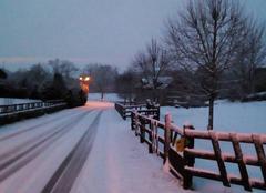 Neige Le Lonzac 19470 L'hiver est toujours là
