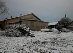 Neige Valencin 38540 Février sous la Neige