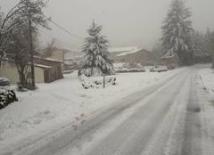 Neige Lachaux 63290 Neige montagne 660m