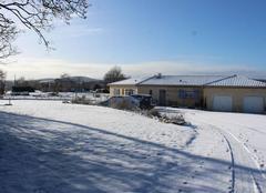 Neige Bachas 31420 Février blanc