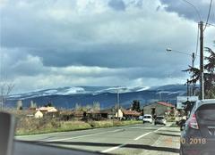 Neige Nogaret 31540 Quand la Montagne Noire devient blanche.