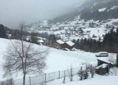 Neige Les Villards-sur-Thones 74230 Ça tombe aux villards