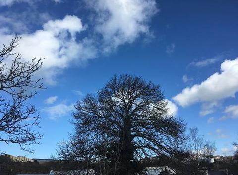 Beau ciel  breton