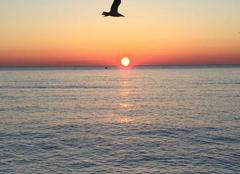 Ciel Roquebrune-Cap-Martin 06190 Lever de soleil