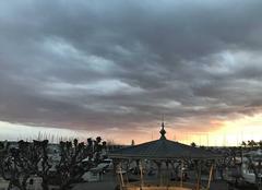 Nuages Cannes 06400 Ciel de neige
