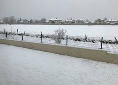 Neige Saint-Marcellin-en-Forez 42680 Sous la neige ...le silence au réveil