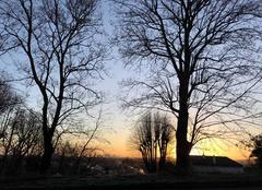 Ciel Saint-Germain-en-Laye 78100 Lever du soleil