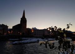 Ciel Saint-Girons 09200 Lever de soleil