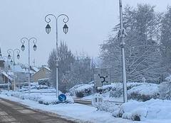 Neige Ruaudin 72230 20cm en une journée et demie