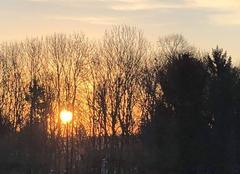 Ciel Amiens 80090 AMIENS lever de soleil