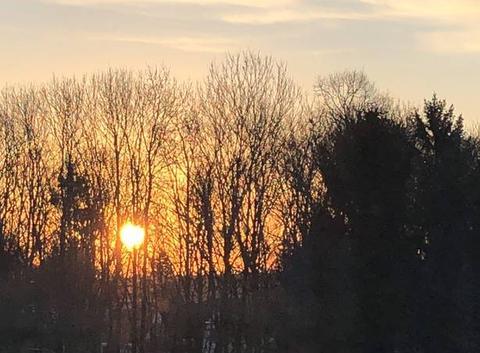 AMIENS lever de soleil