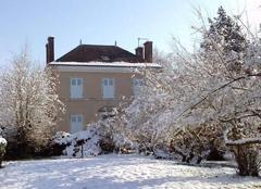 Neige Germigny-des-Pres 45110 Le Presbytère