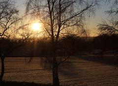 Ciel Auzances 23700 Lever du soleil