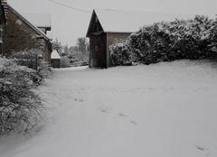 Neige Javron-les-Chapelles 53250 La neige