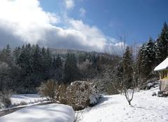 Neige Saint-Brisson 58230 Soleil et neige