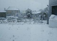 Neige Parthenay 79200 «Tempête» de neige