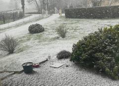 Tempête Verneuil-sur-Vienne 87430 Neige