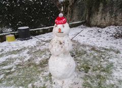 Neige Maurs 15600 Bonhomme de neige à Maurs
