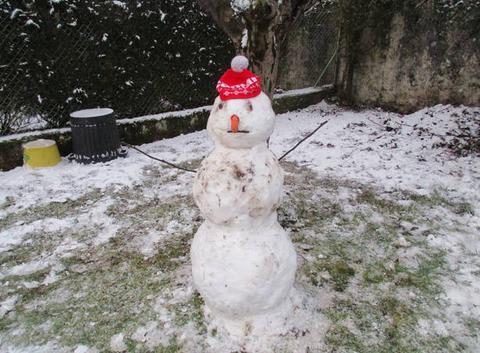 Bonhomme de neige à Maurs