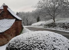 Neige Saint-Cyprien-sur-Dourdou 12320 La neige pour le mardi-gras