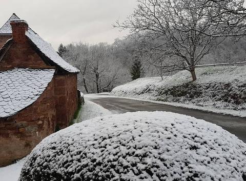 La neige pour le mardi-gras