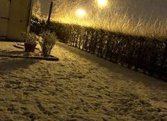 Neige Gelles 63740 Cela neige encore