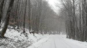 Neige Corrèze 13 février 2018