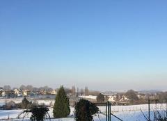Neige Domont 95330 Sous la neige à Blémur