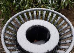 Neige Tassin-la-Demi-Lune 69160 La neige au servi du street/art !