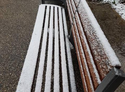 De la neige pour du street/art !