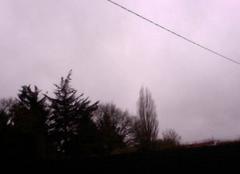 Nuages Sainte-Pazanne 44680 Un ciel gris et couvert pour la St-Valentin