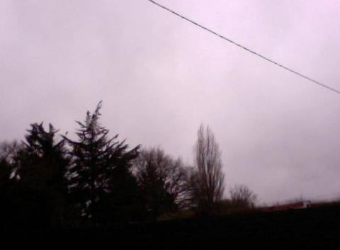 Un ciel gris et couvert pour la St-Valentin