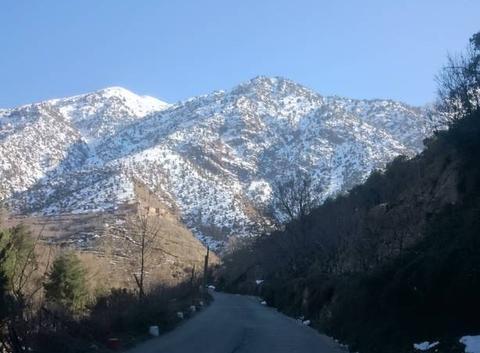 En pleine montagne