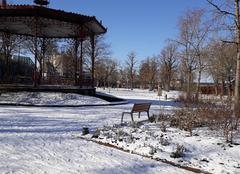Froid Rodez 12000 Kiosque  du parc