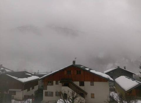 Pluie et brouillard en montagne