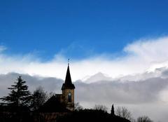 Ciel Saint-Lezer 65500 Ciel de ce Samedi 17 Février 2018 à 14 h 06 à St Lézer.