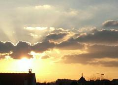 Ciel Le Perreux-sur-Marne 94170 Le soleil se couche !!!!!